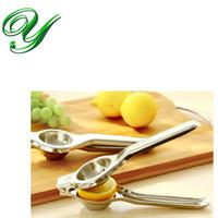 Edelstahl Zitronenpresse Press für Lime Orange Manuelles Obst Entsafter Good Grip Citrus Reibahlen Küche toosl Gadgets Box Verpackung