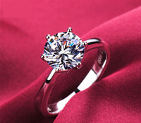New! Real 925 Sterling Silver Ring for Women Silver Wedding ...