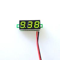 """0.28 """"dc 3.5-30 فولت الرقمية led سيارة الفولتميتر الجهد لوحة فولت متر"""