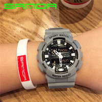 2018 Sanda New Sport Men Fashion Outdoor Army Military Watch...