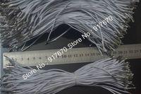 100 pcs notions stretch cordon blanc rose noir 2mm cordes élastiques pour masques avec barbes de cordon élastique accessoires de cordon barbelé