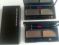 Yeni 2 Renkler Kaş Sha Derfard Poudre Pook Les Sourils 3G Kaş Tozu Makyaj Kaşları Showing Gölge !!!