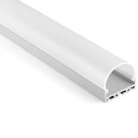 10 X 1M комплектов / серия Фабрики алюминиевого профиля для светодиодного бара и анодированной экструзия канала для потолка или подвесных светильников