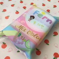 Nuovi arrivi OMO White Plus Sapone di frutta con saponi Mix Color Plus Five Sbiancamento di candeggina 100% Gluta Rainbow Soap