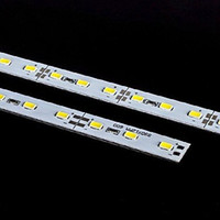 5630 7020 White LED Bar 72 LED rigido rigido a LED Strip Light Super Bright Lights 12V DC