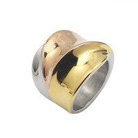 Rose Golden Silver Golden Plated 3 Colors Cocktail Stainless...