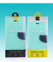 Venta al por mayor Universal Blister PVC Plástico Transparente Caja de embalaje al por menor Paquete Bandeja interna para la caja del teléfono para iPhone 6/7 Con bandejas de inserción