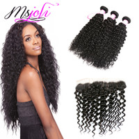 Human Hair Wefts With Closure 13x4 frontal Ear To Ear Brazil...