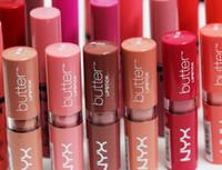 NYX Butter Mate Lippenstift 22 Farben Batom Makeup Langlebige Tönung Lip Gloss Stick Marke Maquillage