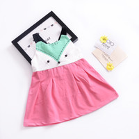 Girls Dresses Fox Cartoon Baby Rompers Kids Jumpsuits One- pi...