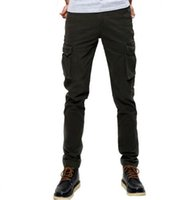 Fashion Military Cargo Pants Men Loose Baggy Tactical Trouse...