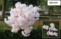 인공 벚꽃 멀티 컬러 웨딩 장식 사쿠라 39 인치 100cm 긴 무료 배송 WQ20