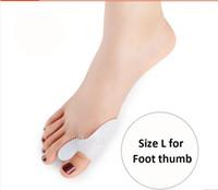 Yeni 1 pair Ayak başparmak Jel Silikon Bunyon Düzeltici Büyük Toe Ayırıcılar Düzleştirici Serpme Ayak Bakımı Aracı Halluks Valgus Pro masaj