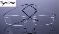 (12pcs / lot) La struttura ottica senza titanio del titanio della Non-vite, telai di vetro di titanio della memoria accetta l'ordine misto