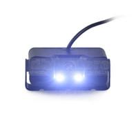 Capteur de radar d'emballage étanche de voiture Reverse LED Vision nocturne Vue arrière caméra de voiture grand angle pour Kit d'aide au stationnement