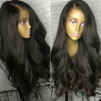 Bythair Full Lace Human Hair Wigs Wavy Brazilian Glueless La...