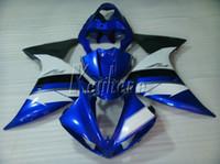 100% adecuado para los carenados de moldes de inyección Yamaha YZF R1 09 10 11 12 13 14 azul carenado kit YZFR1 2009-2014 OR15