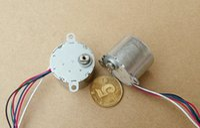 Spedizione gratuita !!! 10PCS 24BYJ 5VDC Stepper Motor 2-phase 6-wire o 5-wire Stepper Angle: 5.625
