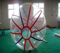 عالية الجودة المشي المياه الكرة قطرها 2 متر 0.8 ملليمتر شفافة pvc دائم و الصلب زورب الكرة نفخ الهامستر الكرة للأطفال و الكبار