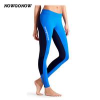 Новые женщины велоспорт одежда длинные брюки велосипед носить брюки черный синий эластичность с гель pad фитнес открытый спорт горная дорога NOWGONOW