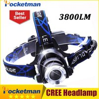 High Quality Headlight CREE T6 LED Head Lamp Headlamp Linter...