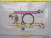 Турбонагнетатель наборов TD04 49177-01512 отстроить заново комплекта для ремонта Turbo для Мицубиси Delica L300 4D56 DE 2.5 L (3 отверстия+охлаженная вода)