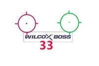 Голографическая оптика Прицел Red Dot G33 Тактическая оптика Крепится желто-коричневым страйкболом Снайпер