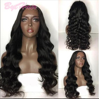 Bythair 180% Density Brazilian Wavy Full Lace Human Hair Wig...