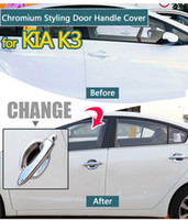 handle cover For Kia K3 Cerato ABS Chrome Trim Doors Handle ...