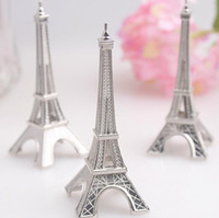 hot sales wedding favor eiffel tower place card holder wholesale bridal party gifts supplies events
