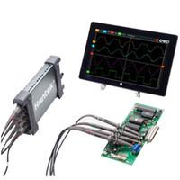 Freeshipping PC USB Osciloscopio 4 CH 250 MHz 1GSa / s función de grabación y reproducción de forma de onda 64k Profundidad de memoria Original