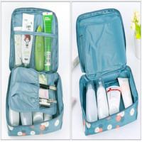 14 أنواع المحمولة السفر المنظم حقيبة التخزين حقيبة ماكياج التجميل أدوات الزينة غسل القضية معلقة الحقيبة أدوات الزينة ماكياج التخزين للماء