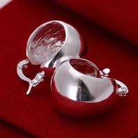 Al por mayor - precio más bajo regalo de Navidad 925 pendientes de moda de plata esterlina E116