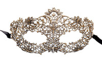 New fashion women sexy lace mask vintage wedding Christmas c...