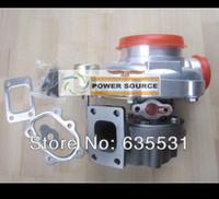 Livre Navio GT3076 GT3076 T30 Flange .70 A / R .86 A / R refrigerado a água 3.11 V BANDA Válvula interna 5 parafusos Turbo Turbocompressor