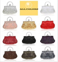 1pc hot sellingVintage Beads embroidery Sequin Handbag Party...