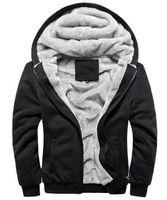 Al por mayor- Nuevo 2016 Marca Chaquetas y abrigos para hombre Soft Shell Hombre Chaqueta de invierno para hombres Abrigo Sudaderas con capucha Casual Hombre Veste Homme