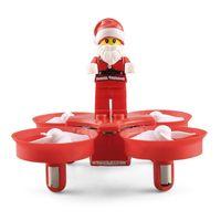 JJRC H67 Uçan Noel Baba Noel Şarkıları ile RC Helikopter Drone Noel Oyuncak Uzaktan Kumanda Uçak Çocuklar Hediye 10 adet