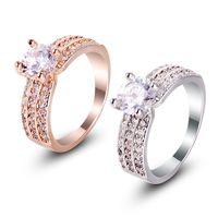 2017 высокое качество новый бриллиантовое кольцо, дамы кольцо, мода европейских и американских ювелирных изделий, комплект ювелирных изделий, различные ювелирные изделия кольца весь