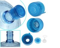 nonspill bottle caps works for both 3 and 5 gallon water bottle snap on cap anti splash peel lid