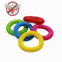 Multi- color Elastic Repellent Bracelet Natural Vegetable Oil...
