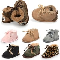 Newborn Winter Boots 0- 18M Camouflage Baby Cotton- padded Sho...