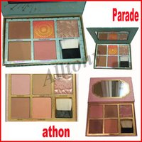 Новый Cheek Parade Bronzer Highlighter Elf Makeup Высочайшее качество Макияж Bronzers Blush Eye Shadow Palette 5 цветов