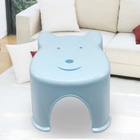 2017 Top Fashion Stool Plastic Childrens Room Seats Office Bedroom Chair Cartoon Bench Creative Household Items