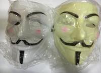 100 pcs Máscara de vingança V mascotes fawkes V vendetta team rosa sangue cicatriz masquerade Filme Adulto Guy Halloween Cosplay festa rosto carnaval