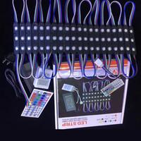 5050 RGB بقيادة وحدة ضوء 12V الأسود PCB العودة الغناء قوة وحدة + 12V 2A + 44Key في مربع اللون بيع