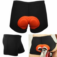 Mens Underwear Comfortable Bike Bicycle Cycling Shorts Gel 3...