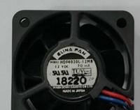 مروحة التبريد ELINA FAN 4020 12V 0.07A HDF4020L-12MB 2wire