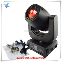 4Xlot Fantastico effetto moving head led light 150w led spot moving head lighting con flight case