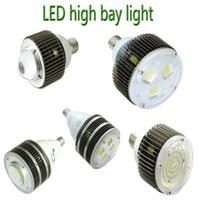 Le CREE 50W 100W 120W 150W 150W 200W 300W 400W de lumière de baie du crochet LED de l'UL DLC E27 E40 s'allume en CA 110-277V